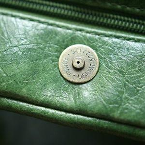 Barneys New York Bags - Vintage Green Barneys Hand Bag